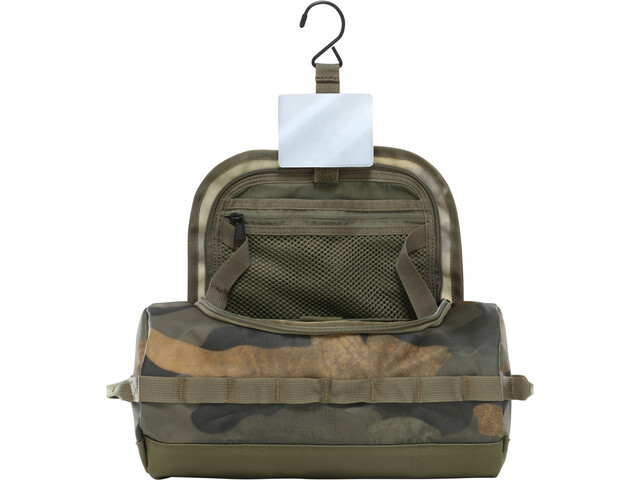 The North Face Base Camp Travel Canister L Waxed Camo Print/Burnt Olive Green